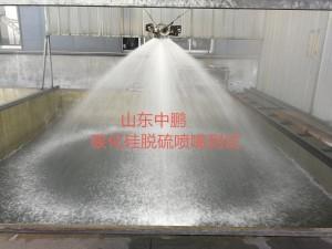 DN100 single direction vortex nozzle SPR series