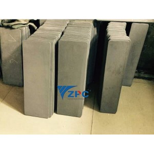 Reaction bonded Silicon Carbide plate