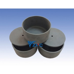 RBSiC (SiSiC) crucible lid