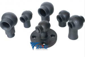 Silicon carbide spray nozzles for Gas Scrubbing Applications