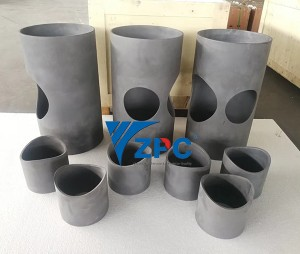 Silicon carbide ceramic lined pipe & elbow