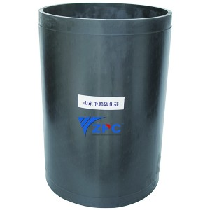Wear-resistant parts in machinery, wear resistant compounds, SiC cylinder