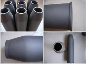 Cone carbosilice Boquilla Sisic tubo Buner