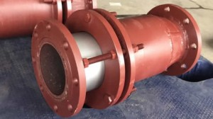 Silicon carbide ceramic lined pipe & elbow