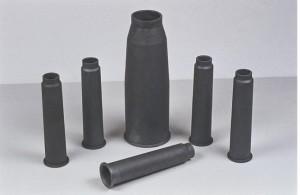 un tubo di carburo di silicio