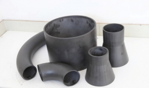 Reaction bonded silicon carbide tube & pipe