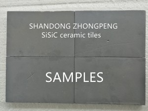 Wear resistant ceramic tiles factory manufacturer- SiC plates and 92%, 95% Alumina plates