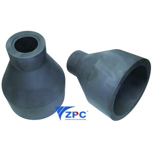 Silicon carbide آزار nozzles
