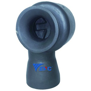 DN65 Silicon carbide big flow vortex nozzle