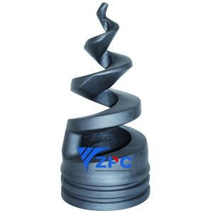 4.5 inch winding spiral nozzles