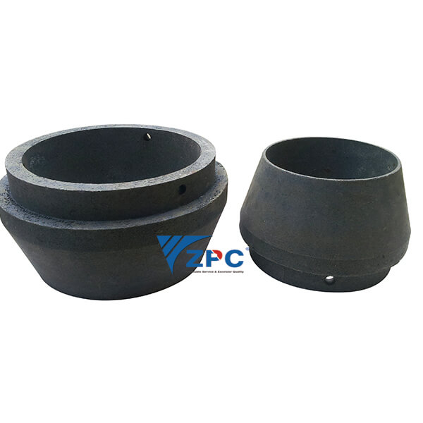 wear resistant ceramic liner – RBSC (SiSiC) cone Featured Image