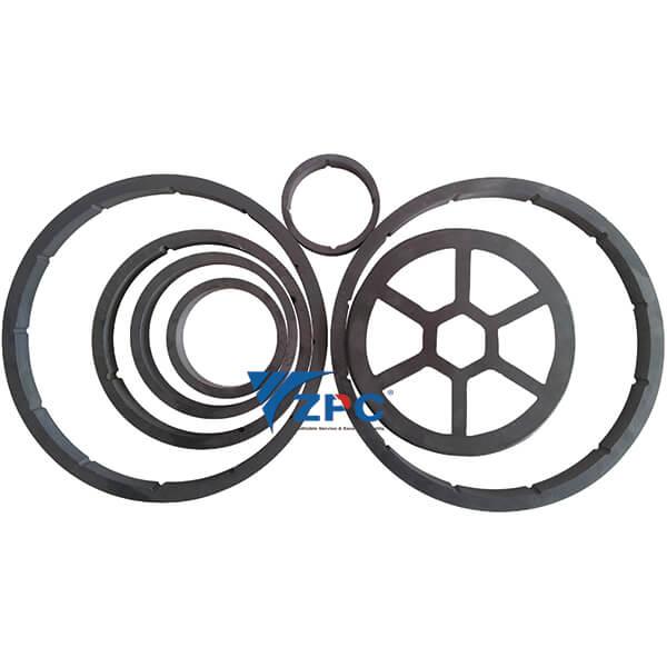 Kulumiskindlad ring, kulumiskindel ja korrosioonikindel komponendid masinad Soovitatavad Image