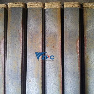 Wear-resistant and high temperature resistant plate of kiln