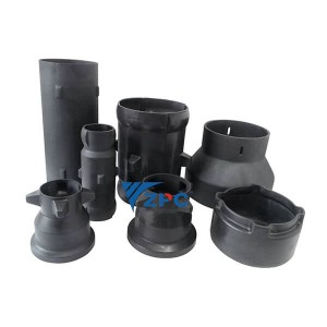 RBSiC (SiSiC)  Radiant tube, Reaction bonded silicon carbide kiln furniture