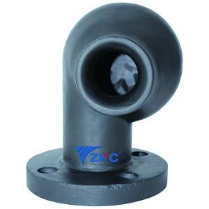 Silicon carbide Tangential Flue Gas Desulphuriztion (FGD) scrubber nozzles