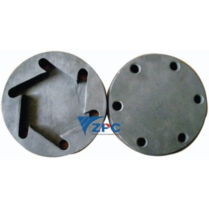 Fine technical ceramic impeller