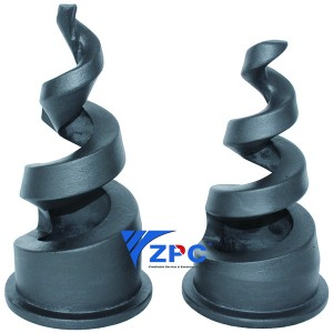 4 inch Reaction Bonded Silicon Carbide Nozzle