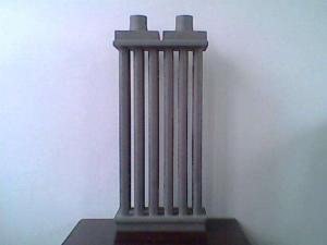 Silicon carbide ceramic heat exchanger
