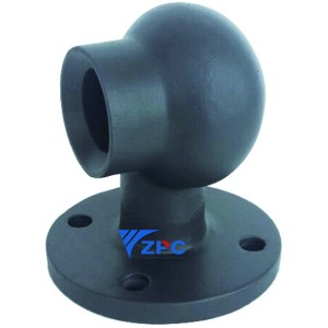 Silicon carbide FGD Absorber scrubber spray nozzle factory in Africa, china, India, america, EU