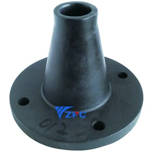 Silicon carbide disturbance nozzles