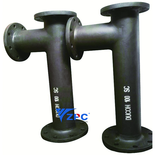 Silicon Carbide Ceramic Lined Pipe and Fittings Featured Image