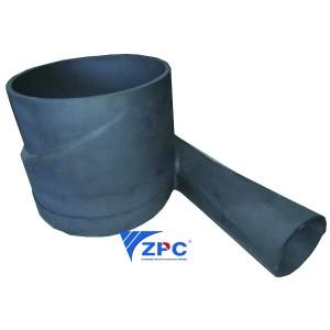 Wear resistance SiC liner
