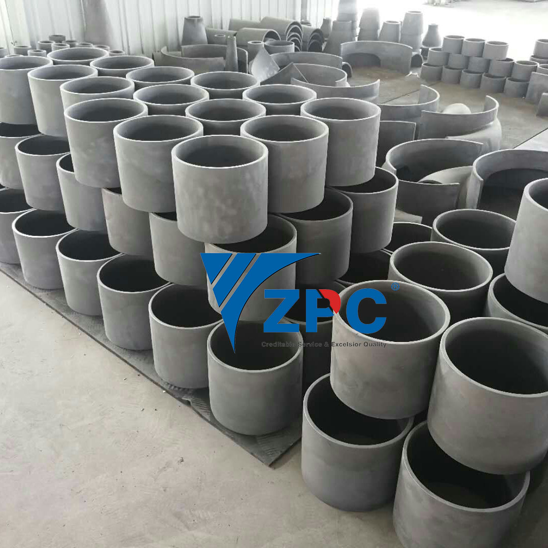 wear resistance silicon carbide cylinder, cone, spigot, etc Featured Image