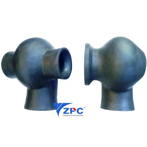 The largest reaction bonded silicon carbide Flue Gas Desulphurization Spray nozzle factory and manufacturer in China