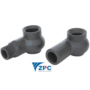 DN25 silicon carbide nozzle of desulphurizing tower