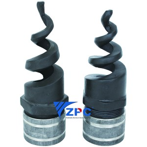 2.5 inch silicon carbide nozzle with Pipe hoop