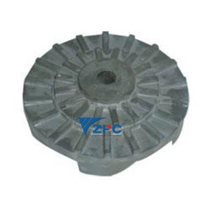 Fin teknisk RBSiC (SiSiC) impeller