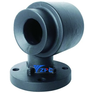 Hollow cone Tangential Whirl TH Series nozzle,  flanged
