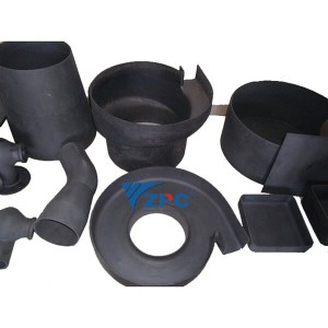Dili regular Ug Special-Shaped Silicon Carbide seramiko