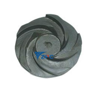 Fine technical SiC ceramic impeller