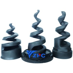 Tri-Clamp RBSiC nozzle