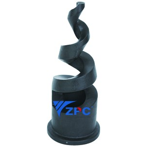 2 inch large diameter spiral nozzle