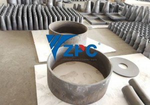 wear resistant silicon carbide liner, cone liner, pipe, spigot, plates (17)