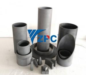 wear resistant silicon carbide liner, cone liner, pipe, spigot, plates (3)