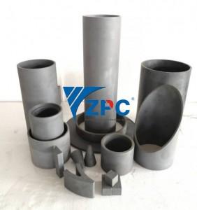 wear resistant silicon carbide liner, cone liner, pipe, spigot, plates (13)