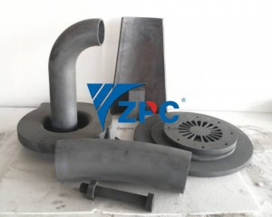 wear resistant silicon carbide liner, cone liner, pipe, spigot, plates (4)